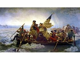 Washington Crossing the Delaware - Wooden Jigsaw Puzzle