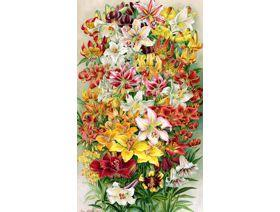 Lilies - Wooden Jigsaw Puzzle