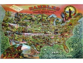 Rambles Through Our Country - Wooden Jigsaw Puzzle