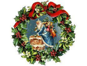 Christmas Wreath - Wooden Jigsaw Puzzle