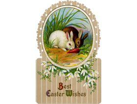 Best Easter Wishes - Wooden Jigsaw Puzzle