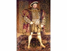 Portrait of Henry VIII - Wooden Jigsaw Puzzle