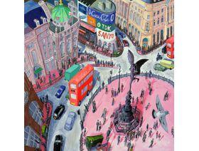 Piccadilly Circus - Wooden Jigsaw Puzzle