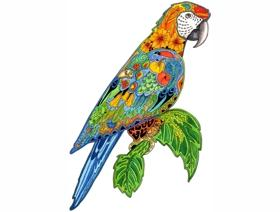 Macaw - Wooden Jigsaw Puzzle