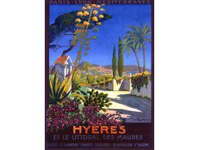 Hyeres - Wooden Jigsaw Puzzle