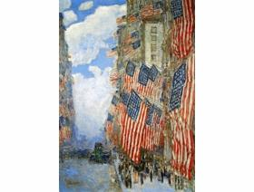 Fourth of July, 1916 - Wooden Jigsaw Puzzle