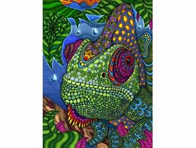 Chameleon - Wooden Jigsaw Puzzle