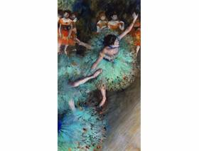 Green Dancer - Wooden Jigsaw Puzzle