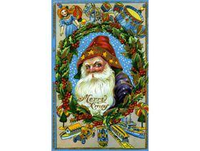Santa's Toy Collection - Wooden Jigsaw Puzzle