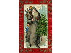 Father Christmas - Wooden Jigsaw Puzzle