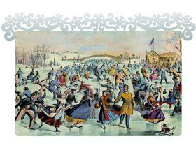 Central Park, Winter - Wooden Jigsaw Puzzle