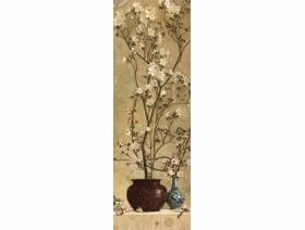 Azaleas and Apple Blossoms - Wooden Jigsaw Puzzle