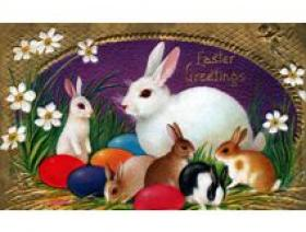 Hoppy Easter - Wooden Jigsaw Puzzle