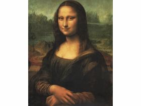 Mona Lisa - Wooden Jigsaw Puzzle