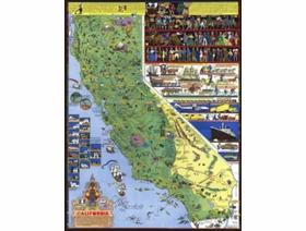 California - Wooden Jigsaw Puzzle