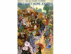 Ladies Home Journal Large Piece - Wooden Jigsaw Puzzle