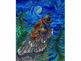 Wolf Song - Wooden Jigsaw Puzzle