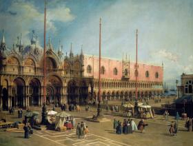 Piazza San Marco - Wooden Jigsaw Puzzle