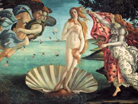 Birth of Venus - Wooden Jigsaw Puzzle