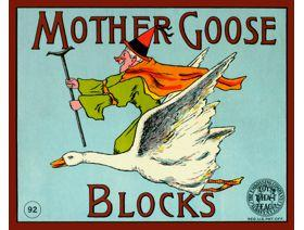 Mother Goose Blocks - Wooden Jigsaw Puzzle