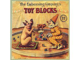 Embossing Company's Toy Blocks - Wooden Jigsaw Puzzle