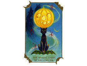 Mystic Light of Halloween - Wooden Jigsaw Puzzle