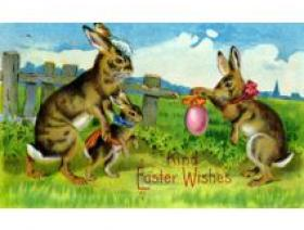 Kind Easter Wishes - Wooden Jigsaw Puzzle