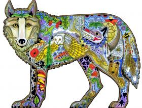 Wolf - Wooden Jigsaw Puzzle