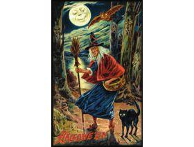Witch Way Halloween - Wooden Jigsaw Puzzle