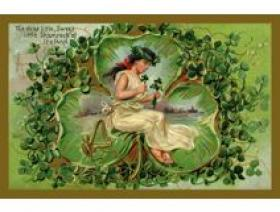 Shamrock of Ireland - Wooden Jigsaw Puzzle