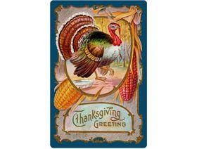Thanksgiving Greeting - Wooden Jigsaw Puzzle