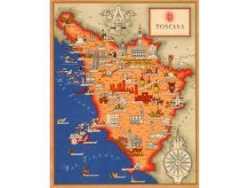 Toscana - Wooden Jigsaw Puzzle