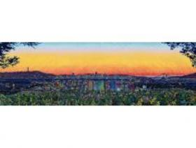 City Sunset - Wooden Jigsaw Puzzle