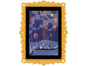 Fireworks in Venice - Wooden Jigsaw Puzzle