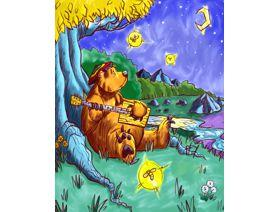 Barry the Bear - Wooden Jigsaw Puzzle