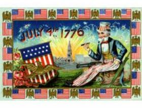 Uncle Sam's Celebration - Wooden Jigsaw Puzzle