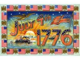 July 4, 1776 - Wooden Jigsaw Puzzle