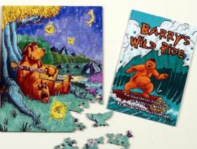 Barry the Bear BUNDLE - Wooden Jigsaw Puzzle