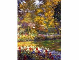 September Garden - Wooden Jigsaw Puzzle