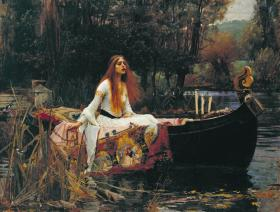 The Lady of Shalott - Wooden Jigsaw Puzzle