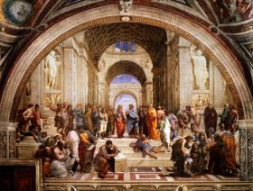 The School of Athens - Wooden Jigsaw Puzzle