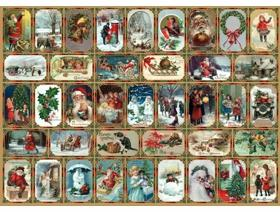 Yuletide Memories - Wooden Jigsaw Puzzle