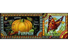 Butterfly Golden Pumpkin - Wooden Jigsaw Puzzle