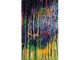 Worm Burning Bright in the Forest in the Night - Wooden Jigsaw Puzzle