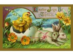 Easter Chariot - Wooden Jigsaw Puzzle