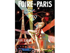 Foire de Paris Large Piece - Wooden Jigsaw Puzzle