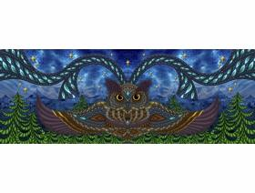 Owl Eyes - Wooden Jigsaw Puzzle