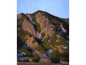 Flatiron Sunrise at the Tangen Tunnel - Wooden Jigsaw Puzzle