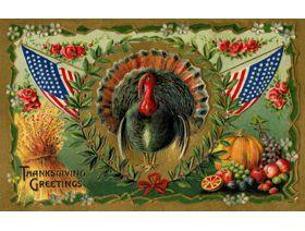 Patriotic Turkey - Wooden Jigsaw Puzzle