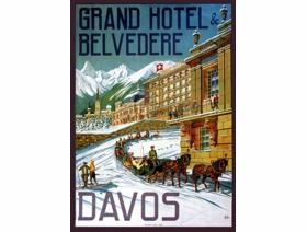 Grand Hotel Belvedere - Wooden Jigsaw Puzzle